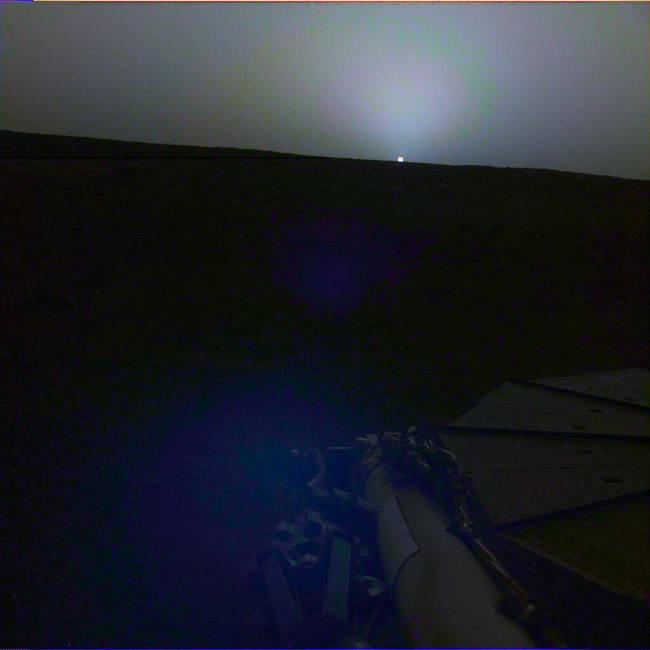 震撼!NASA公开火星日出日落照片