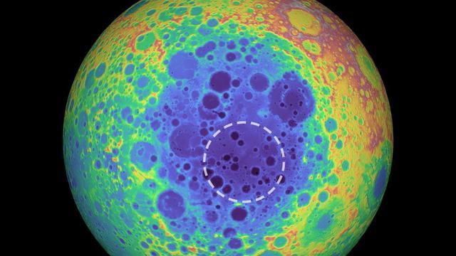 月球埋藏神秘物质