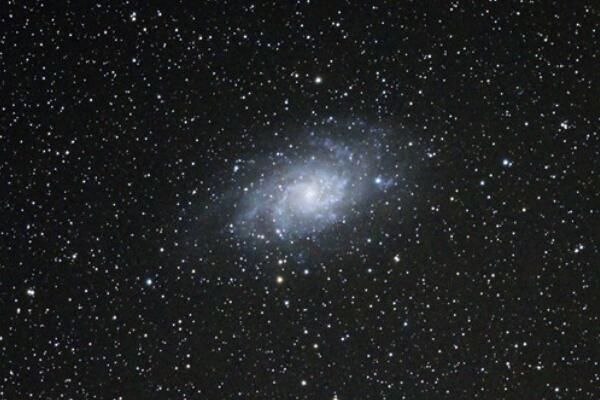三角座星系是仙女座和银河系之后第三大星系