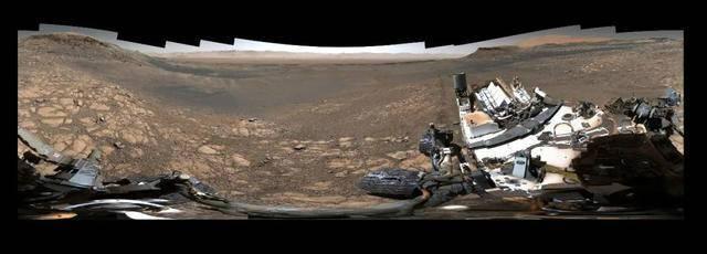 18亿像素火星全景 最清晰的火星地貌全景照