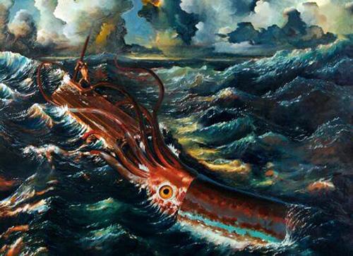 大王酸浆鱿,世界上最大的鱿鱼(长2米/重400斤)