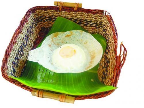 斯里兰卡鸡蛋薄饼